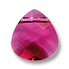 Swarovski Flat Briolette 6012 15.4x14mm Ruby (1-Pc)