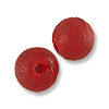 Recycle Glass Beads Red 10mm (5-Pcs)