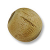 Horn Beads Round Natural Tan 16mm (3-Pcs)