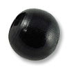 Horn Beads Round Black 16mm (3-Pcs)