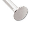 Silver Color 4 Inch Head Pin 21 Gauge (10-Pcs)
