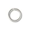 Jump Ring - Open 5mm Silver Color (100-Pcs)