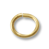 Oval Jump Ring 5.3x3.5mm Open Gold Filled (4-Pcs)