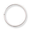 Jump Ring Open 10mm Sterling Silver (2-Pcs)