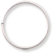 Jump Ring Open 14mm Sterling Silver (1-Pc)