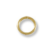 Jump Ring Round Open 8mm Gold Filled (4-Pcs)
