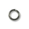 Jump Ring - Open 4mm Gun Metal Plated (100-Pcs)