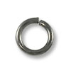 Jump Ring - Open 5mm Gun Metal Plated (100-Pcs)