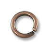 Jump Ring - Open 5mm Antique Copper Plated (100-Pcs)