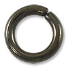 Jump Ring - Open 10mm Gun Metal Plated (10-Pcs)