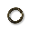Jump Ring - Closed 6mm Gun Metal Plated (5-Pcs)