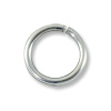 Jump Ring Open 8mm Sterling Silver Filled (4-Pcs)