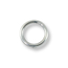 Jump Ring Round Closed 4mm Sterling Silver Filled (4-Pcs)
