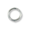 Jump Ring Round Closed 5mm Sterling Silver Filled (4-Pcs)