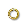 Jump Ring Round Open 4mm Gold Filled (4-Pcs)