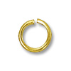 Jump Ring Round Open 5mm Gold Filled (4-Pcs)