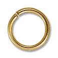 Jump Ring - Open 10mm Gold Plated (50-Pcs)