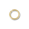 Jump Ring 3mm Open 14k Yellow Gold (1-Pc)