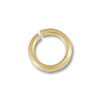 Jump Ring 3.5mm Open 14k Yellow Gold (1-Pc)