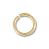 Jump Ring 4mm Open 14k Yellow Gold (1-Pc)