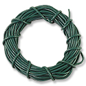Leather Cord 1mm Jade Green (15 Foot Pack)
