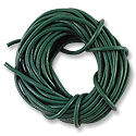Leather Cord 2mm Jade Green (15 Foot Pack)