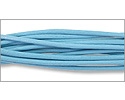 Leather Cord Turquoise 2mm (Priced per Yard)