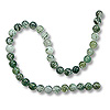 Moss Agate Beads 4mm (16
