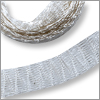 Metallic Ribbon 6mm x 1 meter Silver