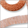 Metallic Ribbon 6mm x 1 meter Copper