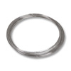 Round Necklace Memory Wire Bright Stainless Steel 1oz.