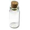 Glass Bead Bottle w/Cork