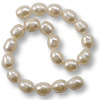 Freshwater Rice Pearl White 7-8mm (16