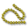 Freshwater Potato Pearls Verde Gold 6-7mm (16