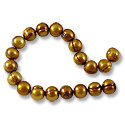 Freshwater Potato Pearl Aztec Gold 7-8mm (16
