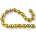 Freshwater Rice Pearl Gold 6-7mm (16