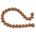 Freshwater Potato Pearl Copper 5-6mm (16