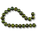 Freshwater Potato Pearl Olive 5-6mm (16