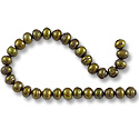 Freshwater Potato Pearl Dark Olive 6-7mm (16