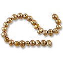 Freshwater Potato Pearl Chamois 7-8mm (16