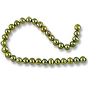 Freshwater Potato Pearls Olive Mix 5-6mm (16