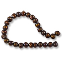 Freshwater Potato Pearls Autumn Brown 6-7mm (16
