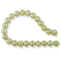 Freshwater Potato Pearls Soft Lime 7-8mm (16