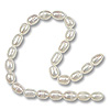 Freshwater Rice Pearls White 3.5-4mm (16