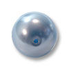 Swarovski 5810 8mm Light Blue Round Crystal Pearl (10-Pcs)