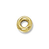 Gold Filled Rondelle Spacer Bead 3x1.5mm (1-Pc)