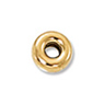 Gold Filled Rondelle Spacer Bead 4x2mm (1-Pc)