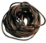 Satin Cord 3mm  Medium Brown (1-Yard)