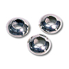 Saucer Beads 6x3.25mm Sterling Silver (1-Pc)