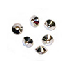 Rondelle Cone Beads 3.5x2.5mm Sterling Silver (4-Pcs)